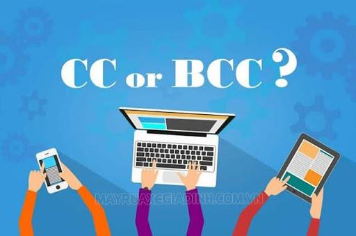 CC và BCC là hình thức gửi thư cùng lúc cho nhiều người