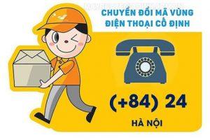 Đầu số điện thoại bàn Hà Nội đổi thành 024