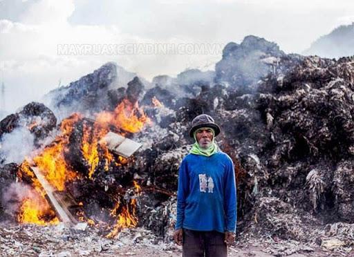 Đốt rác thải nhựa sản sinh ra nhiều khí độc