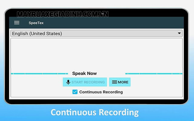Phần mềm Voice Text