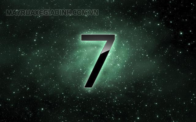 Ý nghĩa con số 7 theo phong thủy