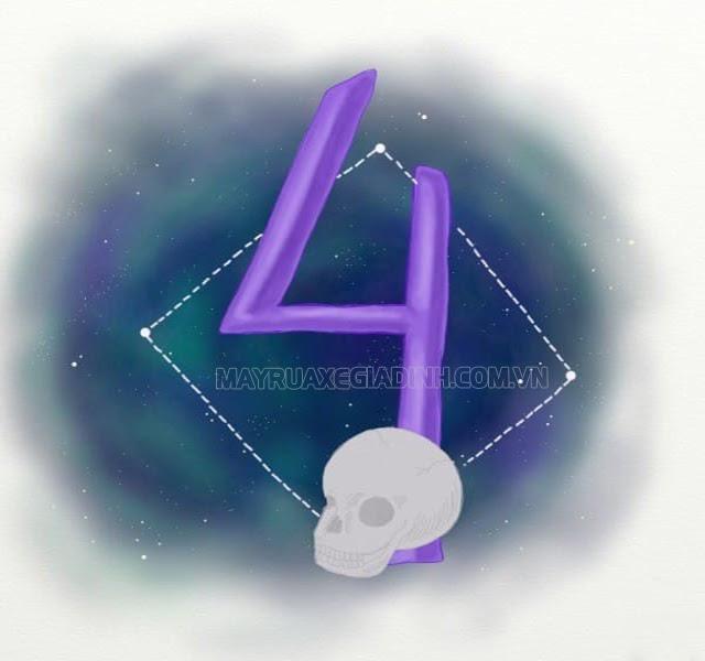 Ý nghĩa con số 4 theo quan niệm phong thủy