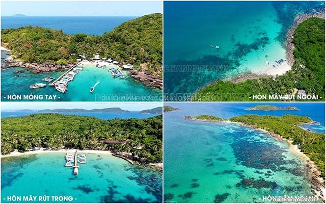Đi tour 4 đảo nổi tiếng nhất Phú Quốc