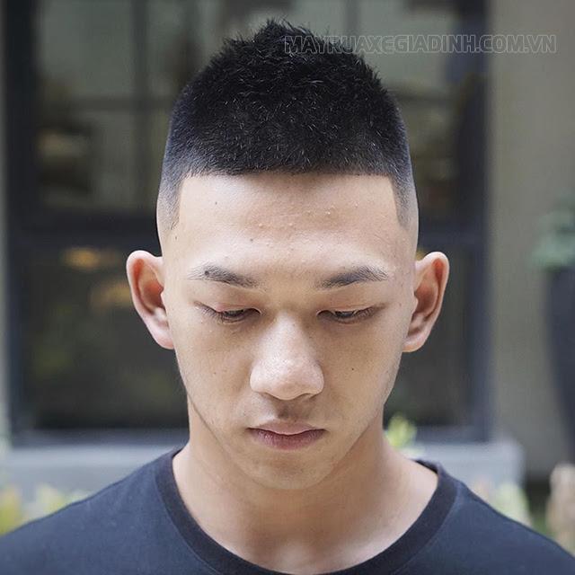 Kiểu tóc đầu đinh nhọn