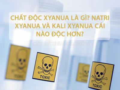 Tìm hiểu chất độc Xyanua là gì?